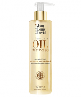 <p>This shampoo combines the benefits of three precious oils: Argan, Jojoba, and Date Palm. Suitable for all hair types, it softly cleans the scalp while eliminating impurities. Hair is nourished and back to its natural softness and shine.</p>