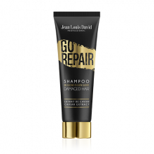 Enriched in extract of Caviar, GO REPAIR shampoo helps to repair your hair. A formula that is free from silicon, parabens and sulphates for strong...