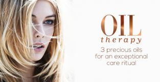 Deeply hydrate your locks with the lightweight Oil Therapy collection
