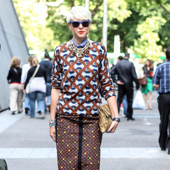Streetstyle: should you dare to try the bowl cut?