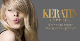 Keratin Therapy, a Jean Louis David innovation